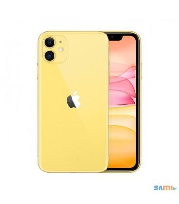 گوشی موبایل اپل مدل iPhone 11 رنگ زرد