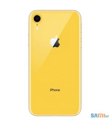 گوشی موبایل اپل مدل iPhone XR رنگ زرد