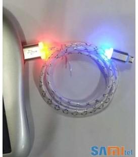 کابل شارژر تبلت و موبایل مجهز به LED