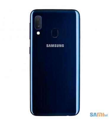 گوشی موبایل سامسونگ مدل Galaxy A20 e رنگ آبی تیره