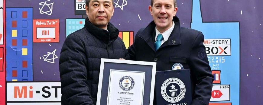 رکورد گینس جدید شیائومی ثبت شد